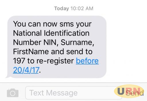 Both Uganda Communications Commission and the Uganda Police Force want phone users to re-register their sim-cards within seven days.