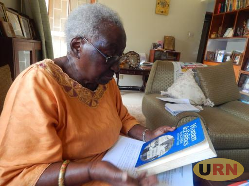 Rhoda Nsibirwa Kalema at her home in Muyenga Kampala