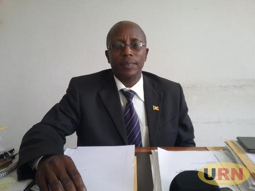Francis Tumwebaze the Mbarara Municipality Principal education officer
