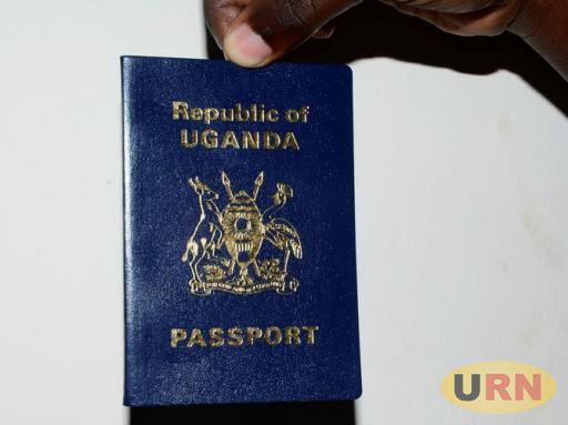 A copy of an ordinary Ugandan Passport. MPs want issuance of e-passports to start next financial year.