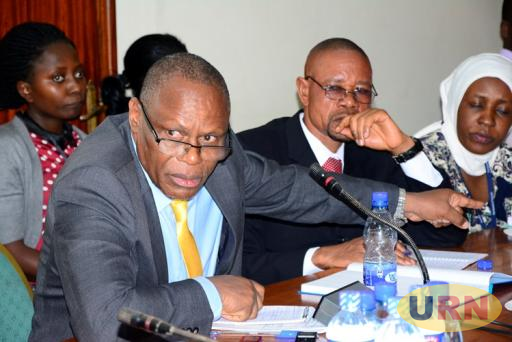 Former Works Ministry Contracts Management Committee chairperson Denis Sabiiti.