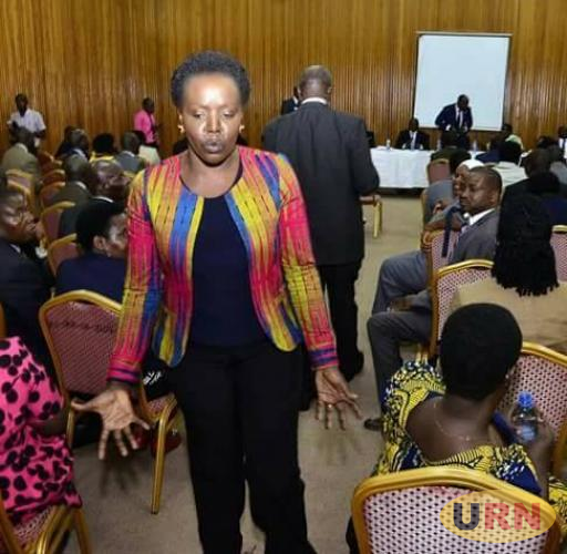Kumi Woman MP Monica Amoding disagreed with the motion to amend the constitution