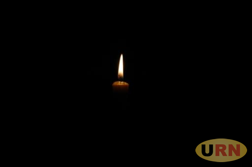 Candle lighting in Darkness.