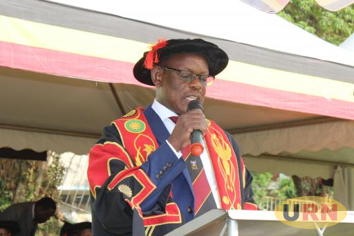 Makerere Vice Chancellor Prof Nawangwe