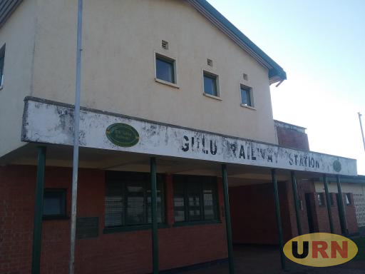 Gulu Railway Station maintains RVR logo but has not been operational.The Northern Uganda Railway line is equally in bad shape.