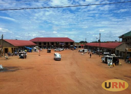 Luweero taxi park with few taxis loading passengers. Since August last year,taxi drivers are no longer paying fees to town council