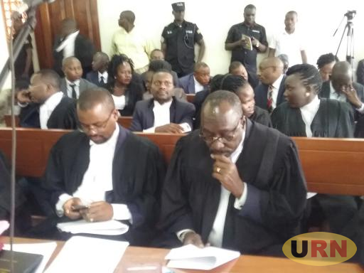 Government lawyers in court.