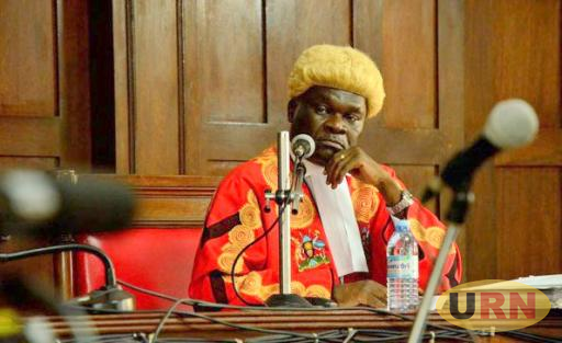 Head Of Constitutional Court, Justice Alphonse Owiny-Dollo. He together with other four judges are hearing of the petitition seeking to overturn Constitutional Amendment Act 2017