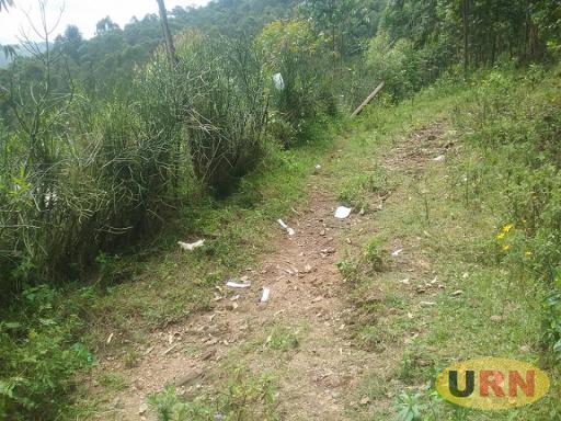 A scene of crime where, Tusiime's body was found