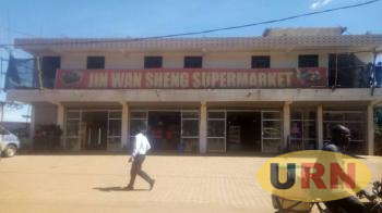 One of the visited scene, the suspects allegedly bought everything they used from this supermarket in Busega