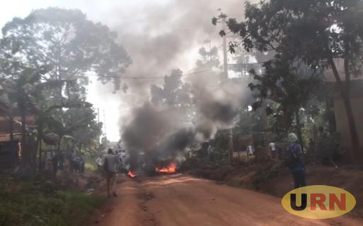 Nankuwadde residents prompted to burn transformer using car tyres over power outage