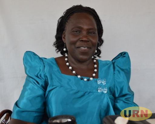 The new Leader of Opposition Betty Aol Ochan, also Gulu Woman MP
