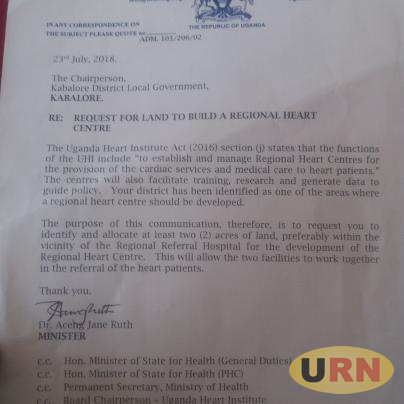 Ministry of Health to Construct Regional Heart Centre in