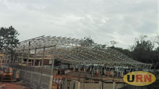 6 days to go: Status of the World University Netball Facility under construction at Makerere University