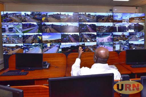 Museveni launched the CCTV project this morning