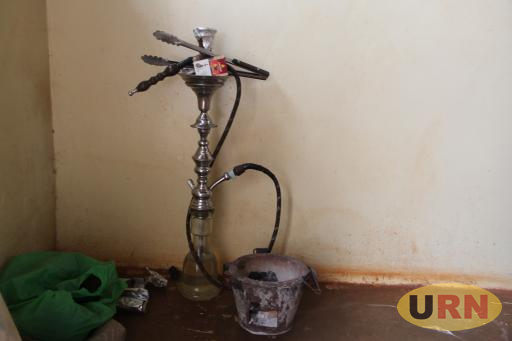 One of the shisha pots which was recovered from Trek-bar and lounge.
