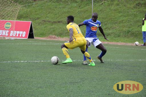 BUL FC draws with URA FC at Njeru technical center.