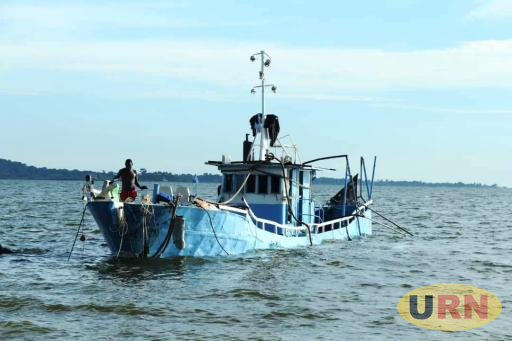 The Wreckage of MV Templar being pulled from Lake Victoria in Mukono