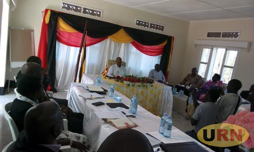 The Apaa Mediation Committee Meeting At Presidential State Lodge In Gulu On Friday Morning