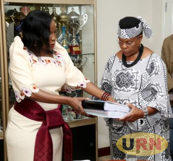 Musisi hands over office