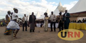 Deputy Speaker of Parliament Jacob Oulanyah Speaker at the Festival on Saturday