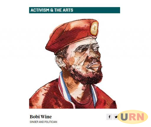 An illustration of Bobi Wine by the Foregin Policy Magazine