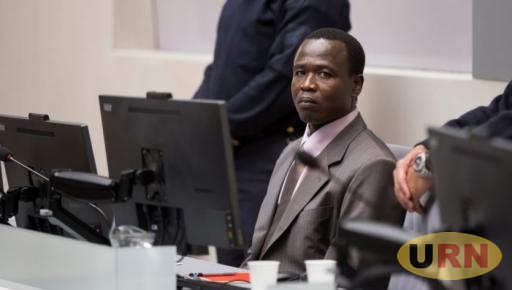 Dominic Ongwen at his confirmation of charges hearing in ICC courtroom on 21 January 2016