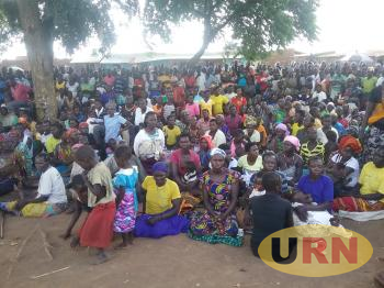 Residents Of Apaa Gathered At A Meeting With Acholi Leaders In Apaa Township In 2017