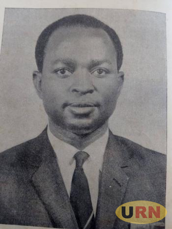 John Kakonge, the only legislator who opposed Daudi Ocheng's motion in February 1966.