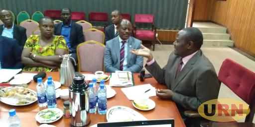 Nawangwe and other Makerere staff appear before education committee