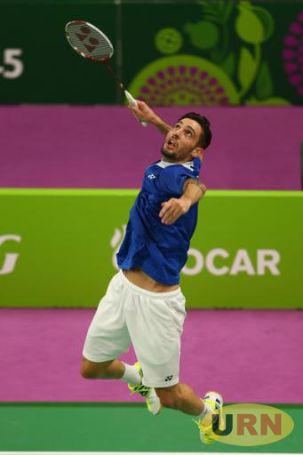 Italy's Rosario Maddaloni is the top seeded player for the Championship.