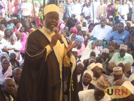 Mufti Mubajje Adressing Leaders in Sembabule
