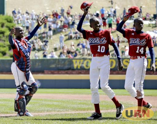 Uganda's Little League Baseball team during a previous event in 2012.
