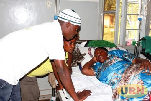 Haawa Namubiru is currently hospitalised at Kasana Health Center IV where she is nursing injuries after an attack which she allege was plotted by MP Aol Betty Ocan