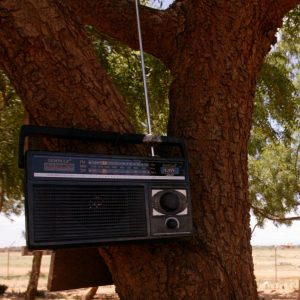Many communities rely on radio for information