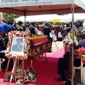 AIGP Andrew Felix Kaweesi funeral